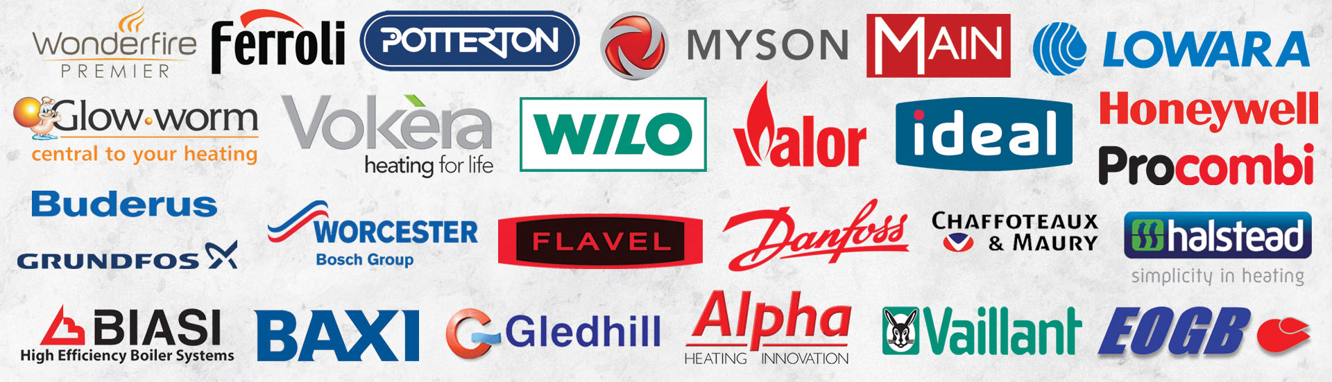 Parts From All Major Manufacturers